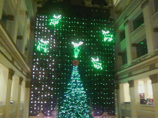 Macys Christmas light show