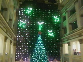 Macys Christmas light show