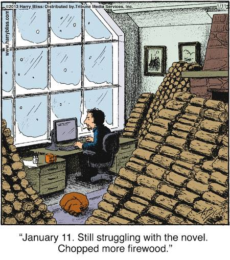 writers procrastinate funny